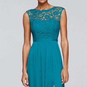Teal gown size 18